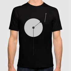 Dandelion at Night MEDIUM Black Mens Fitted Tee