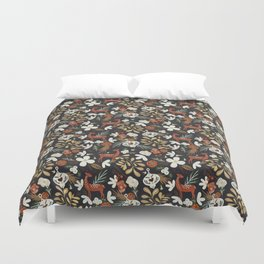 Christmas holiday night III Duvet Cover