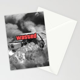 Wasted GTA Stationery Cards