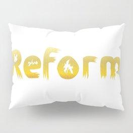 Reformed Letter Form Pillow Sham