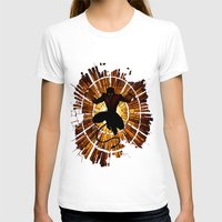 nightcrawler T-shirts featuring Night Stained Glass by Daniac Design