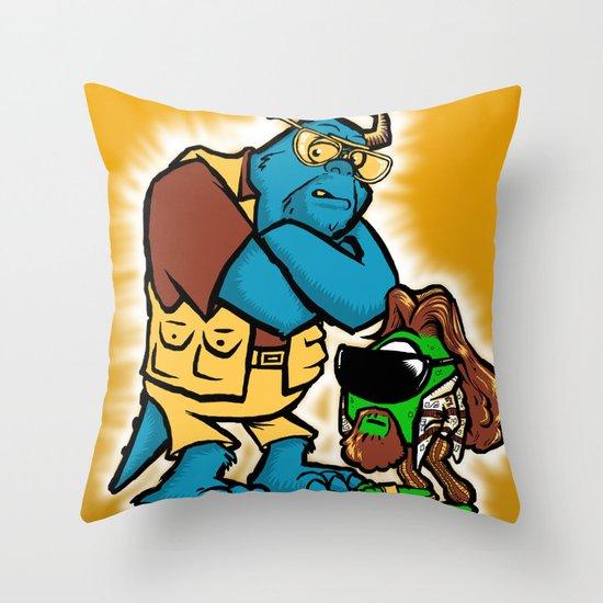 the big wazowksi Throw Pillow