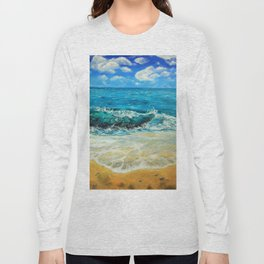 Turquoise waters Long Sleeve T-shirt