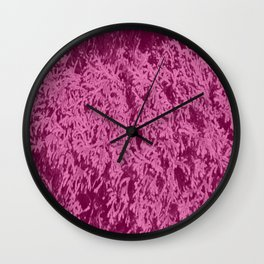 False juniperus Wall Clock