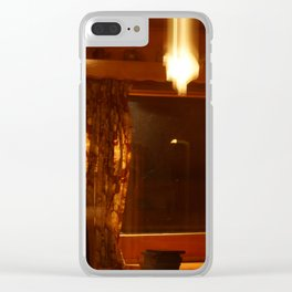 Shutter Flares Clear iPhone Case