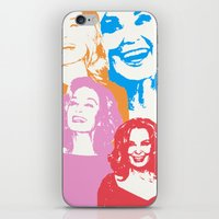 jessica lange iPhone & iPod Skins featuring Jessica Lange - Her smile is everything by BeeJL