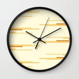 shades of creme Wall Clock