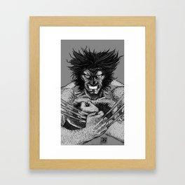 Logan Framed Art Print