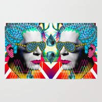 karl Area & Throw Rugs featuring karl by DIVIDUS
