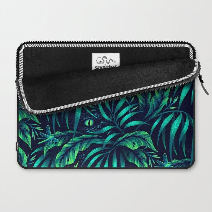 Jurassic Jungle - Green Laptop Sleeve