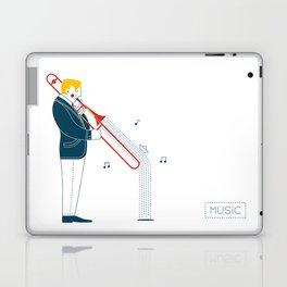 Trombonist Laptop & iPad Skin