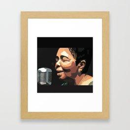 Cesaria Évora Framed Art Print