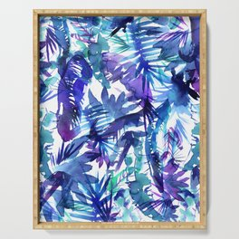 Vibe of the JUNGLE  {B-Blue} Serving Tray