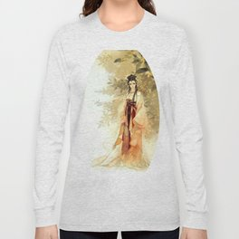 Anciet chinese lady Long Sleeve T-shirt