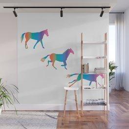 A Rainbowhorse Runs_A Wall Mural