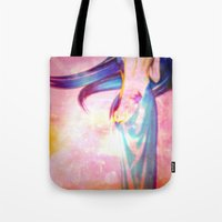 body Tote Bags featuring Body by haroulita