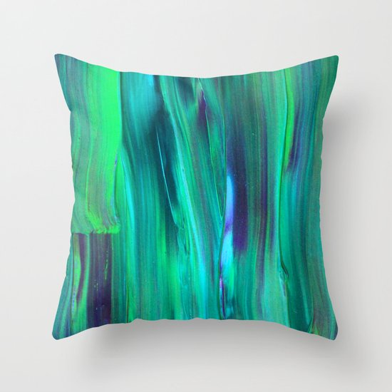 Abstract Painting 29 Throw Pillow