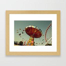 swinging Framed Art Print