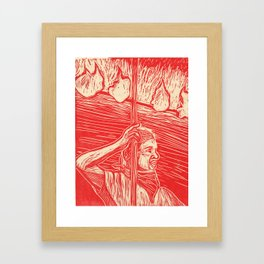 Flambeau Framed Art Print