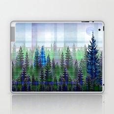Plaid Forest Laptop & iPad Skin
