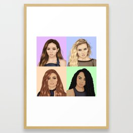 LITTLEMIX Framed Art Print