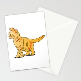 Tabby Kitten Stationery Cards