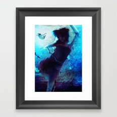 Haunted Waters Framed Art Print