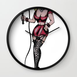 The Switch Mistress  Wall Clock
