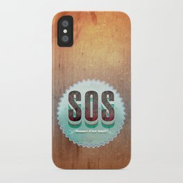 S O S iPhone Case