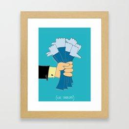 i like syndrome Framed Art Print