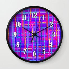 Bright Threads Amethyst Jewel Tones Wall Clock