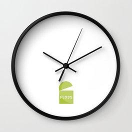 "Dental Hygienists Say the ""F"" Word a Lot Dentist T-Shirt Wall Clock"