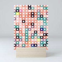 square dance Mini Art Print