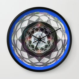 Resonance and Centering Meditation Mandala Wall Clock