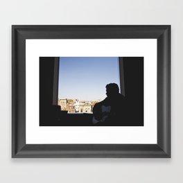 damien // npr Framed Art Print