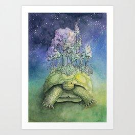 Tranquil, Gopher Tortoise World Art Print