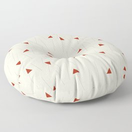 Minimal Winter Floor Pillow
