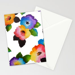 Watercolor Floral Multi Stationery Cards
