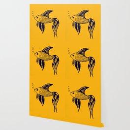 Yellow Fish Wallpaper