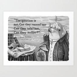 The Philosopher Art Print