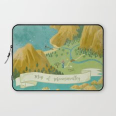 Moominvalley Map Interpretation (1/3) Laptop Sleeve