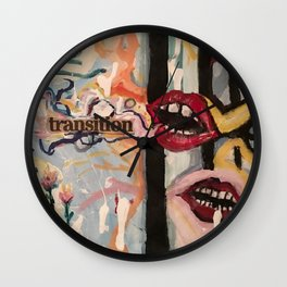 Transition Wall Clock