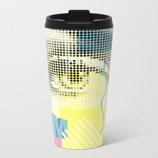 Marilyn Metal Travel Mug