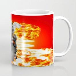 Biker of the Apocalypse-Conquest Coffee Mug