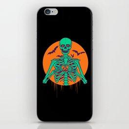 I Love Halloween iPhone Skin