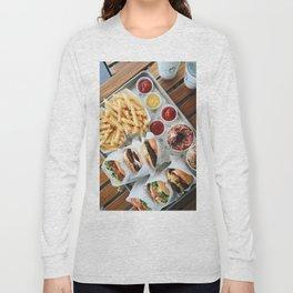 Shake Shack Burgers Long Sleeve T-shirt