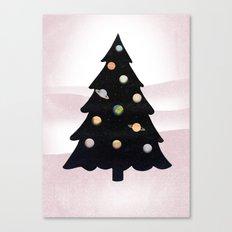Cosmic Tree Canvas Print