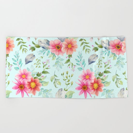Spring is in the air #52 Beach Towel