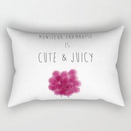 Mr. Raspberry est Adorbs! Rectangular Pillow