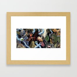 Reverie In The Thirteenth Hour Framed Art Print